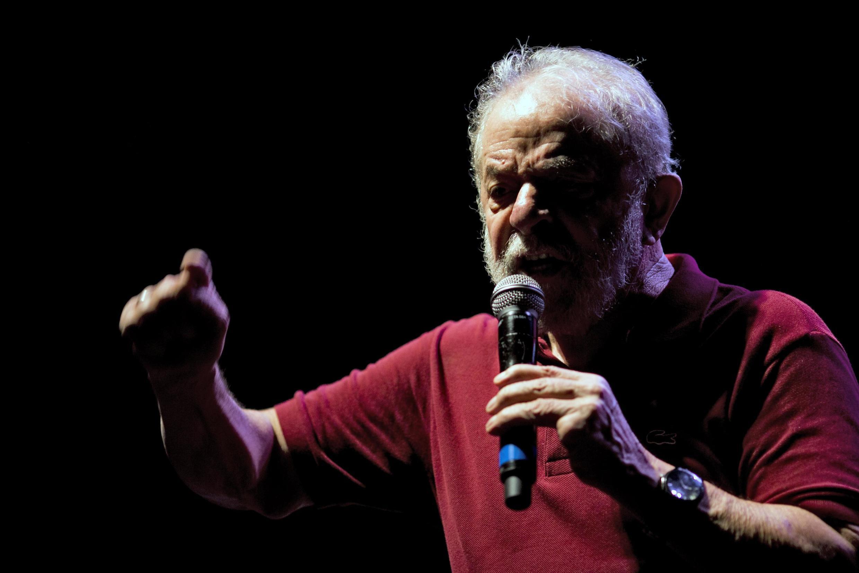 Lula durante celebração do aniversário de 40 anos do PT, no Rio de Janeiro.