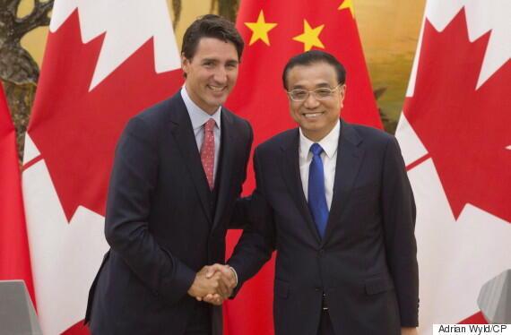 中國總理13年來首訪加拿大 (2016年9月22日)
