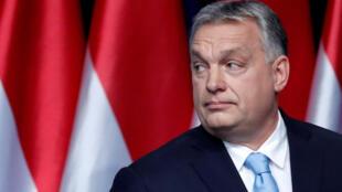 Thủ tướng Hungary Viktor Orban, người gây không ít khó chịu với Liên Hiệp Châu Âu. (Ảnh chụp ngày 10/02/2019 tại Budapest).