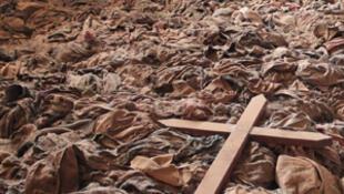 Clothing of Tutsi victims from the Nyamata memorial in Rwanda will be part of the Shoah Memorial exhibition in Paris