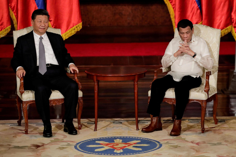 中國國家主席習近平會見菲律賓總統杜特爾特資料圖片