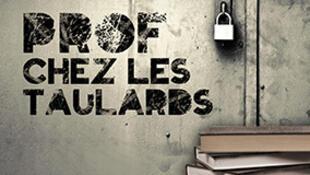 «Prof chez les taulards», écrit par Aude Siméon, est publié aux éditions Glyphe.