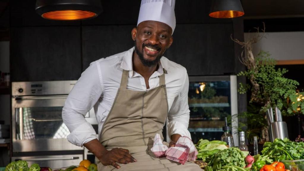 Christian Yumbi, chef du restaurant Arôme à Kinshasa.