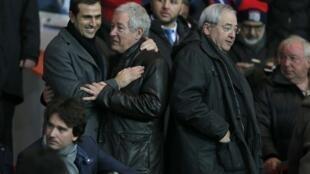 Pauleta celebra qualificação do PSG  para os quartos de final da Champions League