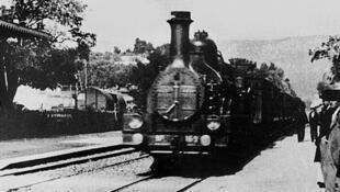 «L'Arrivée d'un train en gare de La Ciotat», des frères Lumière.
