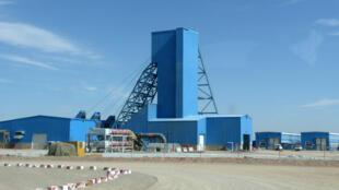 Site de la mine Oyu Tolgoi, en Mongolie.