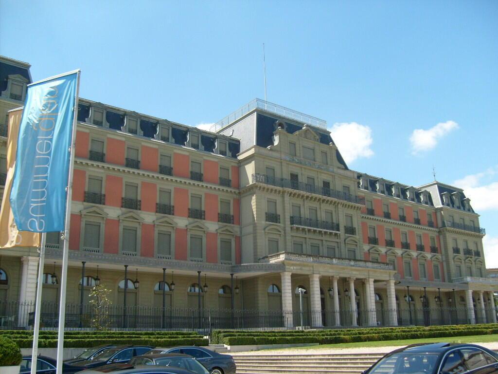 Le siège du Haut-Commissariat aux droits de l'homme de l'ONU, à Genève.