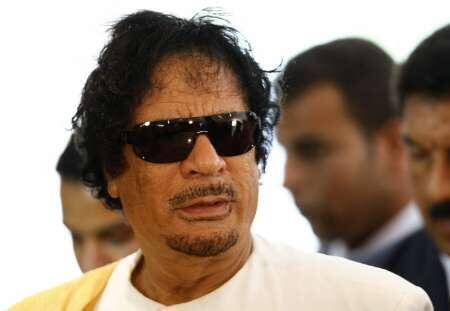 Kiongozi wa Libya Kanali Muamer Gadafi, anayetakiwa kuondoka madarakani.