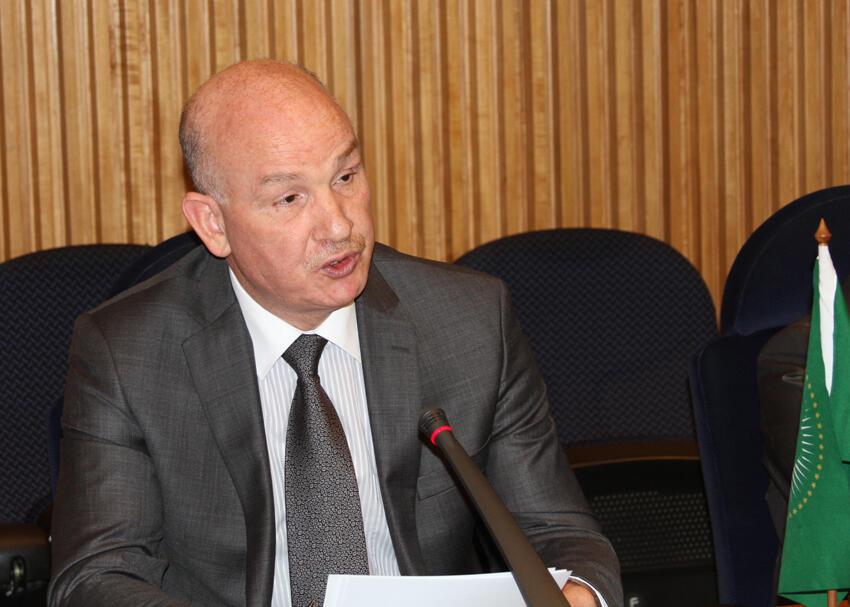 Smail Chergui, le commissaire de Paix et sécurité de l'Union africaine.