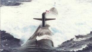 Tàu ngầm tấn công của Hoa Kỳ. Ảnh minh họa