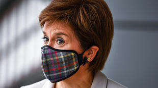 Scotland's First Minister, Nicola Sturgeon, has seen her popularity surge as a result of her handling of the response to the coronavirus pandemic