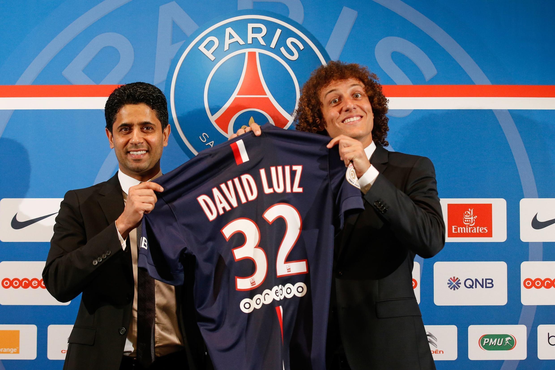 David Luiz, novo reforço do PSG