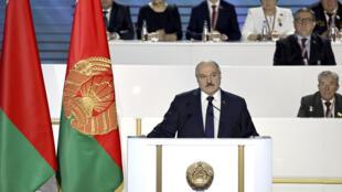 Belarus - Loukachenko - AP21047552125945