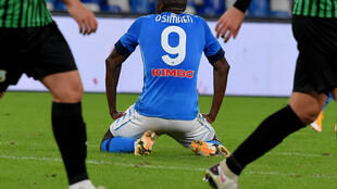 Napoli forward Victor Osimhen tested positive for coronavirus after returning from Nigeria.