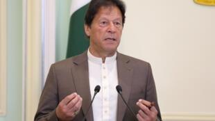 巴基斯坦總理伊姆蘭·汗檔案照