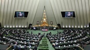 (Ảnh minh họa) - Một phiên họp tại Nghị Viện Iran.