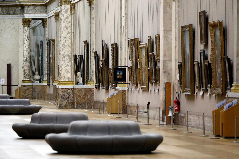 盧浮宮博物館意大利繪畫廳。