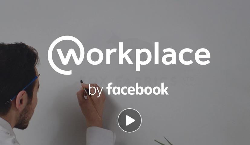 Changez votre façon de travailler, c'est le slogan de Facebook qui inaugure sa plateforme dédiée au monde du travail, Workplace.