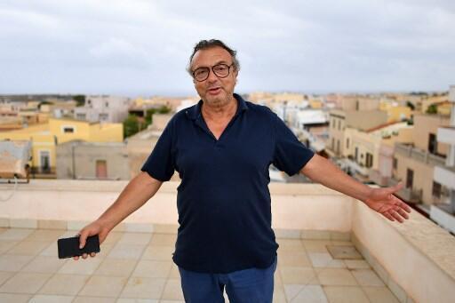 El alcalde de Lampedusa, Salvatore Martello.