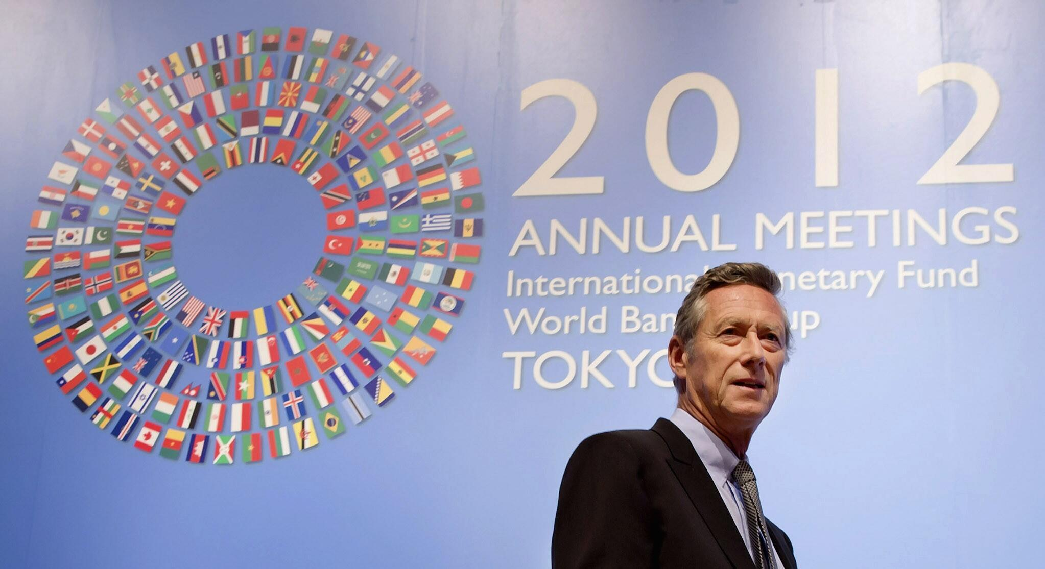 International Monetary Fund's chief economist Olivier Blanchard in 2012