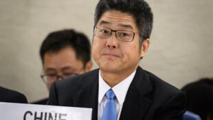 中国外交部副部长乐玉成资料图片