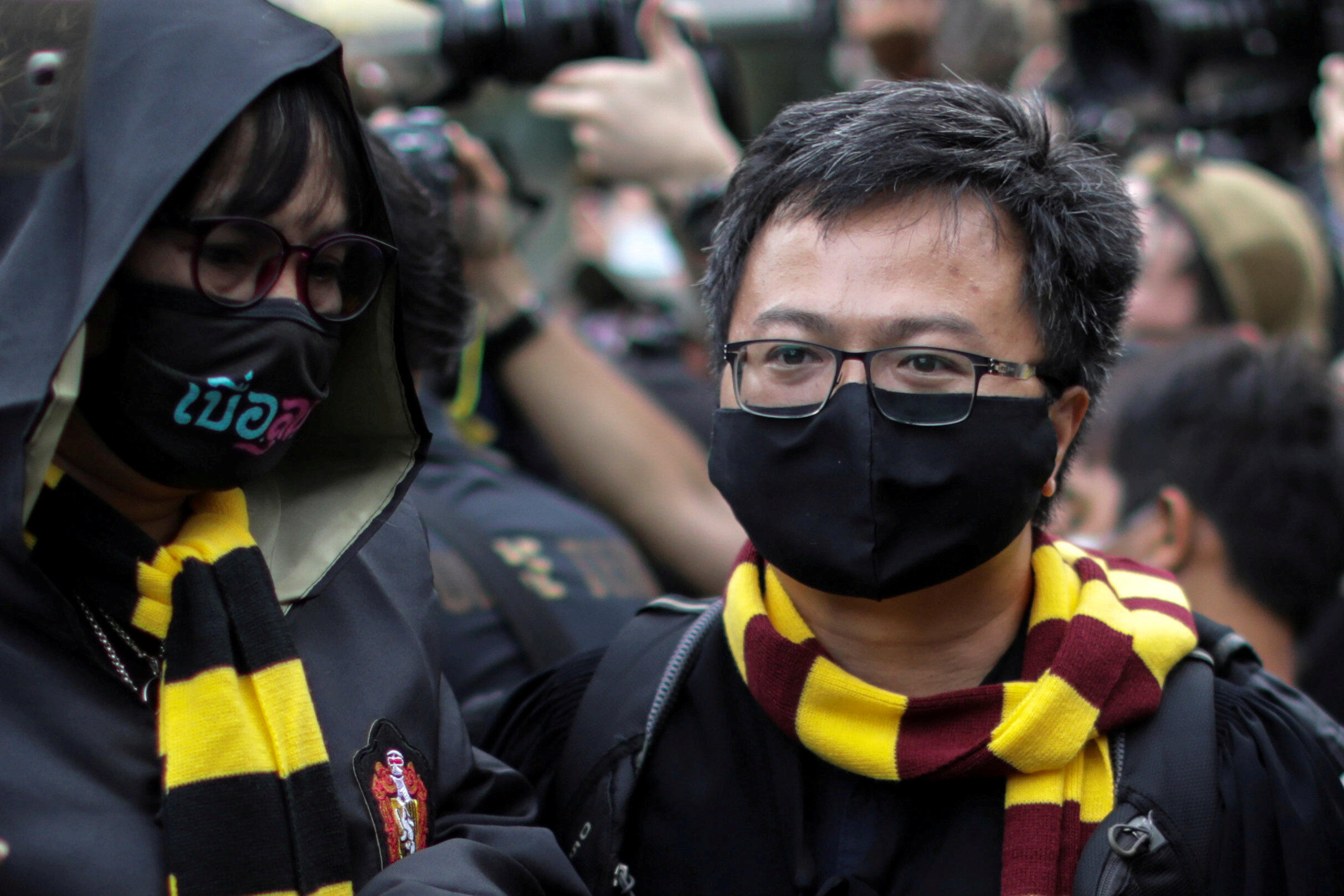 Thailand Harry Potter Protests