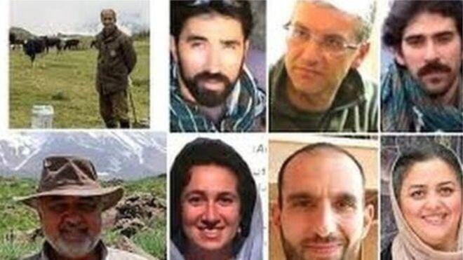 فعالان محیط زیست که توسط اطلاعات سپاه به اتهام واهی جاسوسی بازداشت ومحکوم شدند