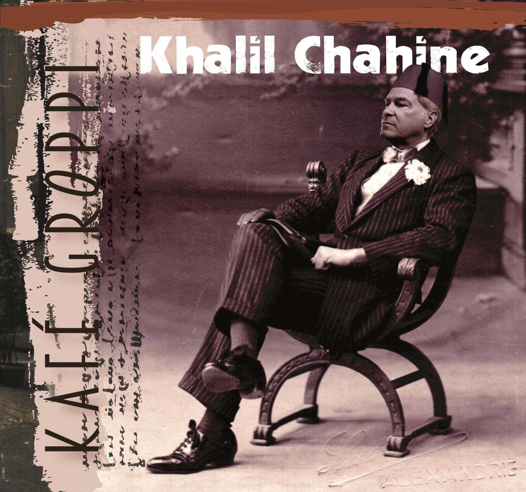 Khalil Chahine in Kafé Groppi mode on new album