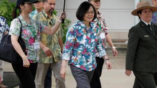 台湾总统蔡英文访问南太平洋国家