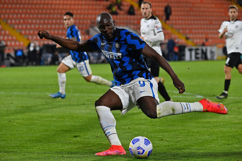 Romelu Lukaku won his first title with Inter Milan last season