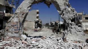 """O exército sírio anunciou nesta quarta-feira, 5 de junho de 2013, ter conquistado o """"controle total"""" da região de Qouseir, cidade que até então era dominada pelos rebeldes."""