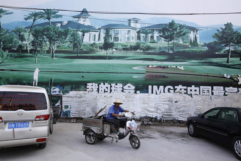 Kinh tế Trung Quốc còn nhiều bất ổn. Ảnh chụp trên một đường phố Bắc Kinh ngày 24/08/2012