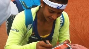 A pernambucana Teliana Pereira vai disputar o quadro principal em Roland Garros.