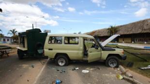 Hiện trường nơi quân đội Venezuela bắn vào dân địa phương ở Kumarakapay, gần biên giới với Brazil ngày 22/02/2019, khiến hai người thiệt mạng.