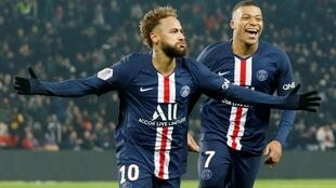 Neymar, a 222 million euro signing from Barcelona and Kylian Mbappé who cost 180 million euros, scored four of PSG's five goals in Lyon.