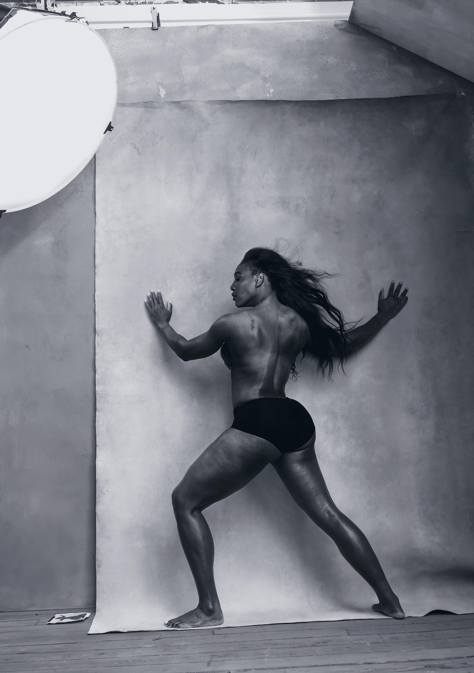 April - Serena Williams