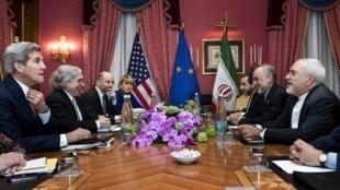 國際六強與伊朗在瑞士洛桑就伊朗核問題談判 2015 03 30