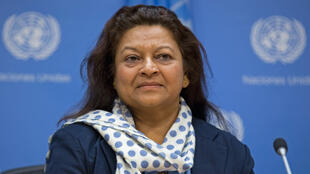 Sheila Keetharuth, rapporteure spéciale de l'ONU sur la situation des droits de l'homme en Eryhtrée.