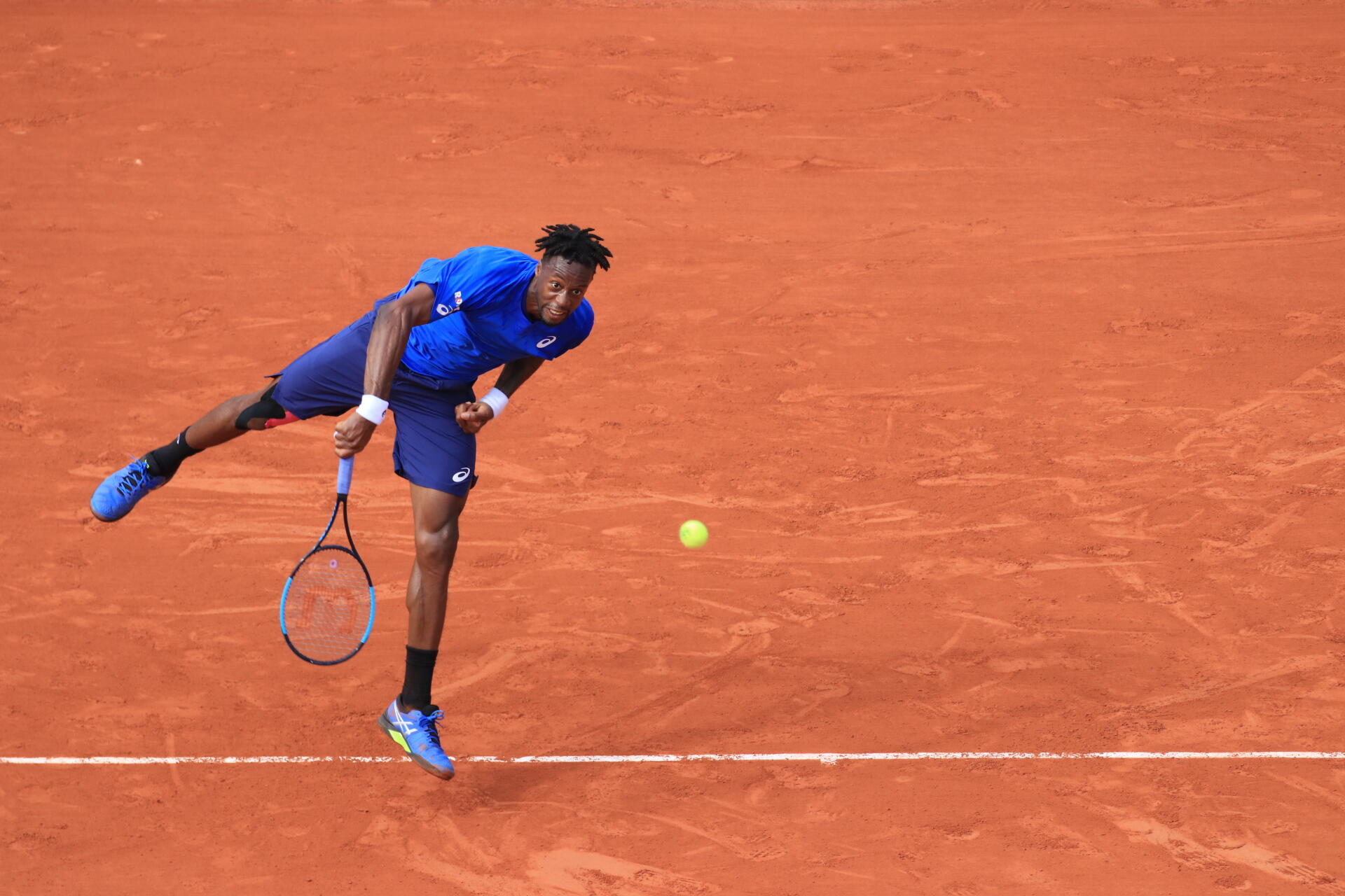 Gael Monfils is the top ranked Frenchman at the French Open in 2019.
