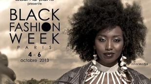 Black fashion week poster