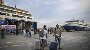 The walkout sidelined ferry services