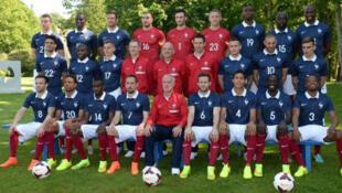 Equipe de France, photo officielle des Bleus.