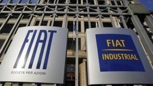 Sede mundial da Fiat na cidade de Turim, norte da Itália.