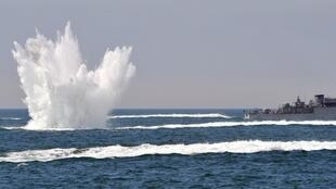 South Korean anti-submarine drill
