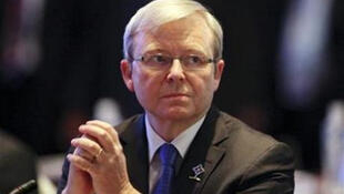 Australian Foreign Minister Kevin Rudd