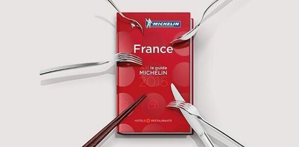 La última edición de la guía de restaurantes Michelín.
