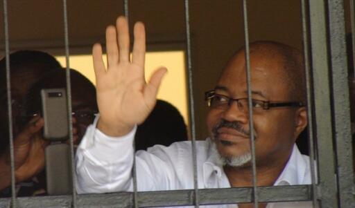 L'opposant André Mba Obame, le 17 février 2011.