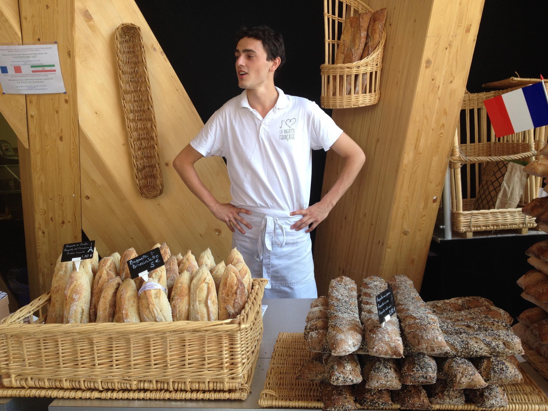 Французская булочная стала хитом ЭКСПО-2015.