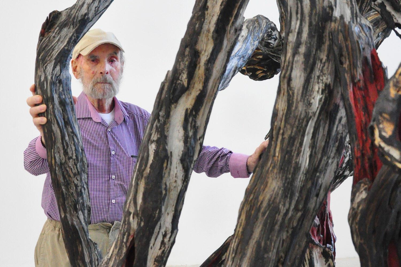 Artista plástico Frans Krajcberg foi condecorado em Paris