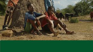 """Cartaz do filme """"Mabata Bata"""" do realizador moçambicano Sol de Carvalho em competição no FESPACO 2019"""